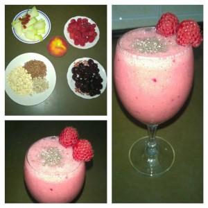 Malinin smoothie