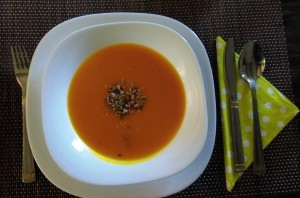 Jesenska juha iz hokaidi bulče