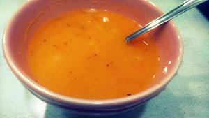 Korenčkova juha z zdrobom1