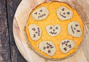 Bučno pomarančna pita za noč čarovnic12