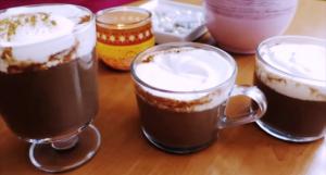 Vroča čokolada na 3 načine