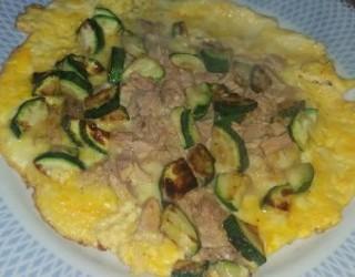 Preprosta omleta z bučkami