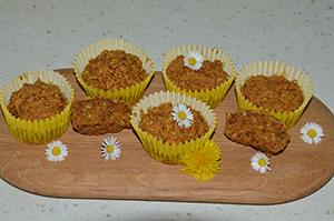 Korenčkove tortice brez jajc, mleka in sladkorja300x200